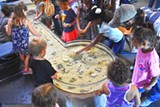 Touch tanks at the UGA Aquarium are always a popular activity at Skidaway Marine Science Day. - Uploaded by MikeS1130