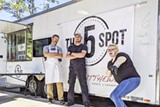 The 5 Spot food truck crew, from a public Facebook post