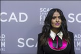 PHOTO BY GEOFF L. JOHNSON - Salma Hayek on the SCAD Savannah Film Festival Red Carpet.