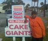 Wanda Beckett, aka Miss Polly, can bake up your dream cake.