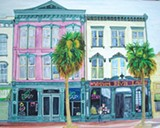 Watercolors by Jessica Barnhill can be seen at the Gallery Espresso
