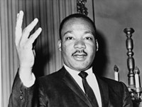 MLK's dream: Be nice and keep marching