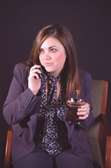 Whitney Williamson plays Aneece, one of six sisters in Belles (Matt Maggioni)