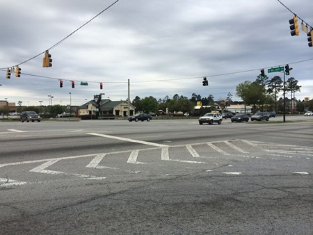 Would you be comfortable crossing Pooler Parkway? How about with children in tow?
