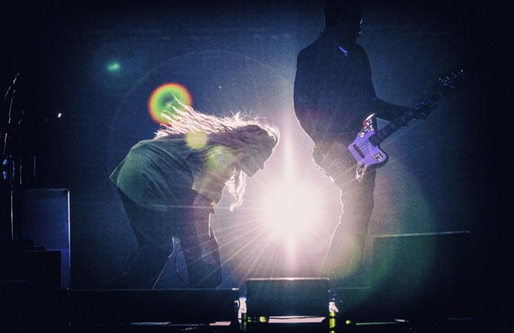 Alanis Morissette alt-rocked the crowd on Friday. - MIKE BROOKS