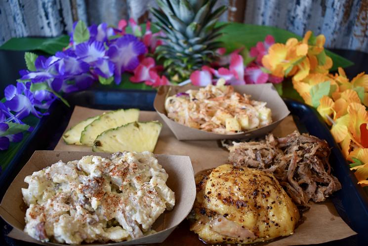 The Luau at Legacy Hall includes a Hawaiian feast. - DOCK LOCAL