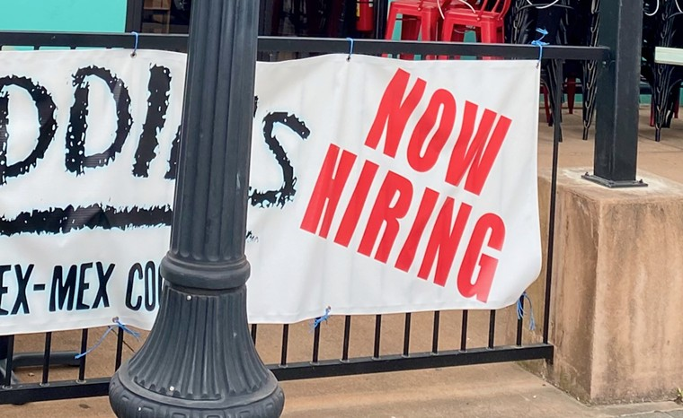 """""""Now Hiring"""" signs are in high demand. - LAUREN DREWES DANIELS"""