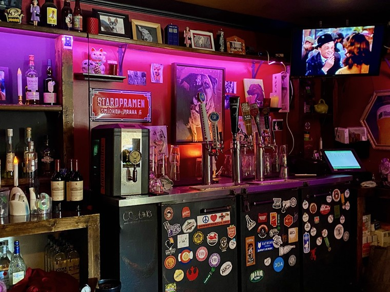 The quirky dark bar at Ten Bells Tavern has been a reliable watering hole for many years. - LAUREN DREWES DANIELS