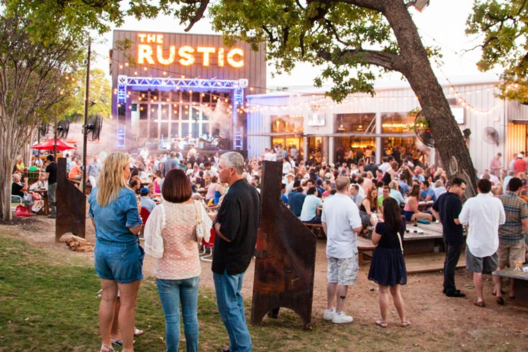 The Rustic will be host to a flood of Red River rivalry. - JESSICA SEPKOWITZ