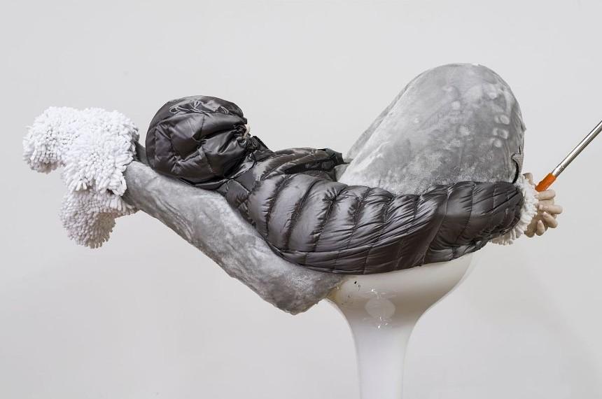 "Anna Uddenberg, ""Cozy Clamp #5 (flash-plug)"" (detail), 2018. - PHOTO BY ED MUMFORD, COURTESY OF THE ARTIST AND HOUSE OF GAGA"
