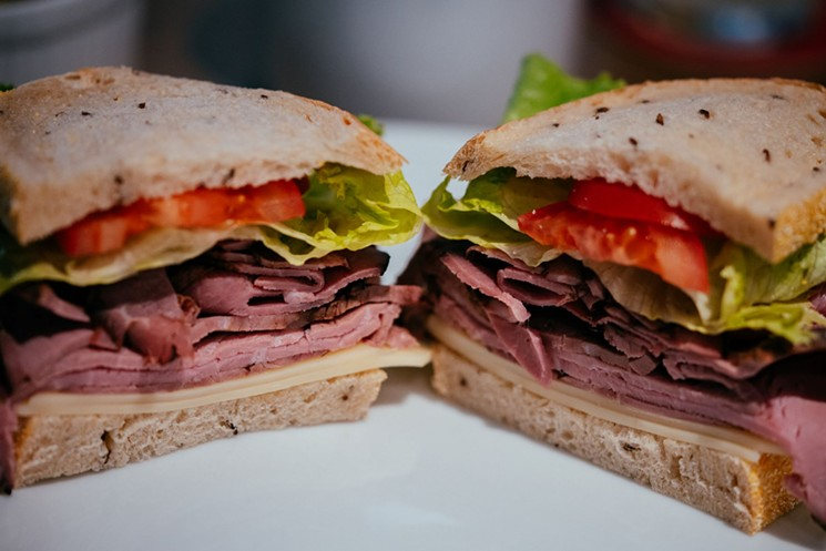 You can't go wrong with a classic deli sandwich at Zaidy's. - JEFF FIERBERG
