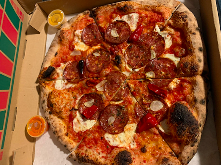 Pizzeria Lui in Lakewood gets the classic right. - KIP WILSON