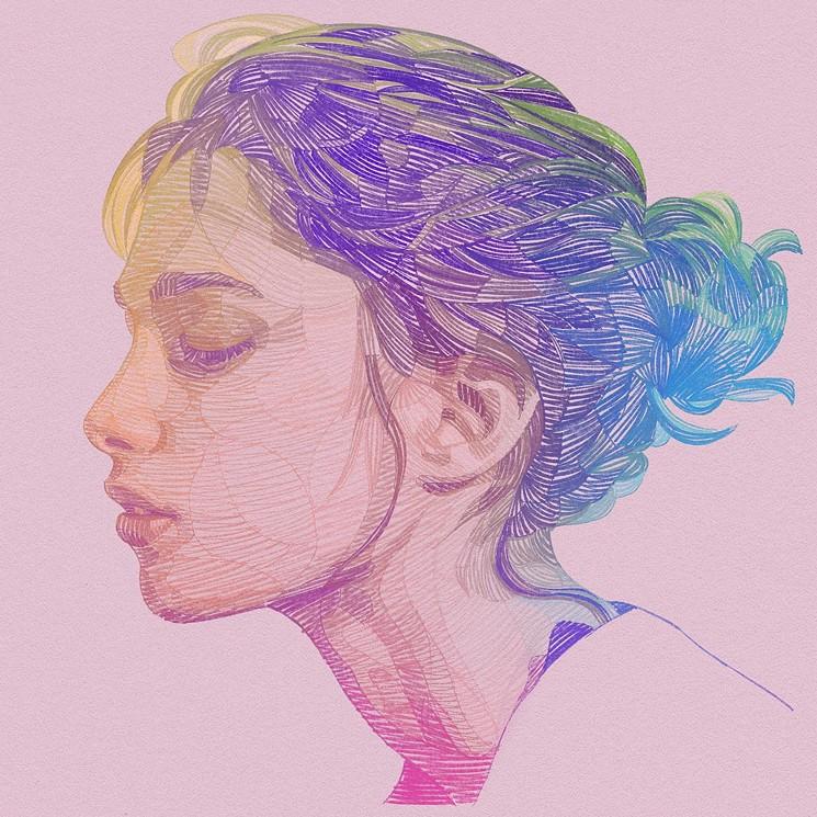 A digital portrait from Lui Ferreyra's Rainbow Series. - LUI FERREYRA