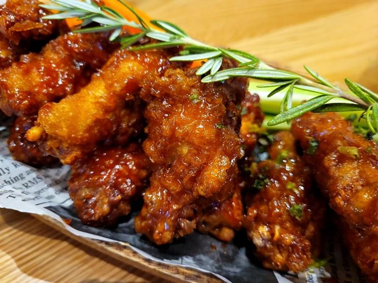 Mono Mono specializes in Korean fried chicken. - LINNEA COVINGTON