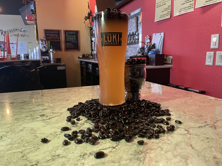 Adriana Terron's first beer is Sippin' Silos Coffee Blonde Ale. - LUKI BREWERY