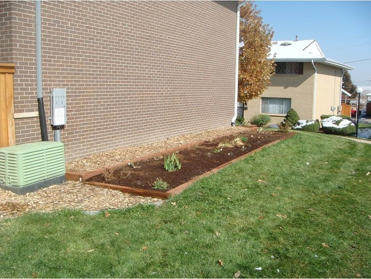 Before renovations, Cherry Creek 3 maintained landscaping from the 1960s. - DON IRELAND