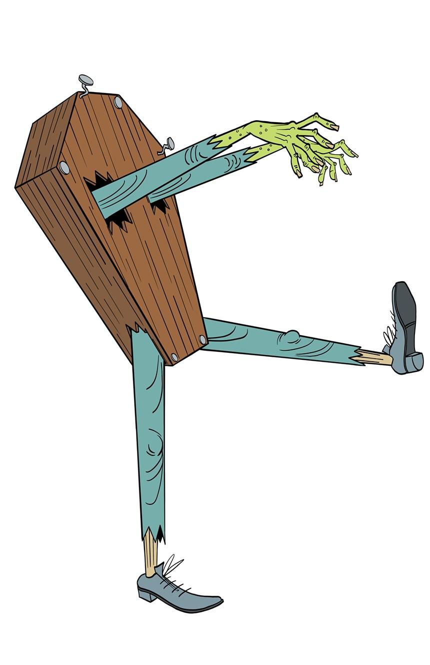 """Coffin Joe"" is the mascot of the COFOH. - JOE OLIVER"