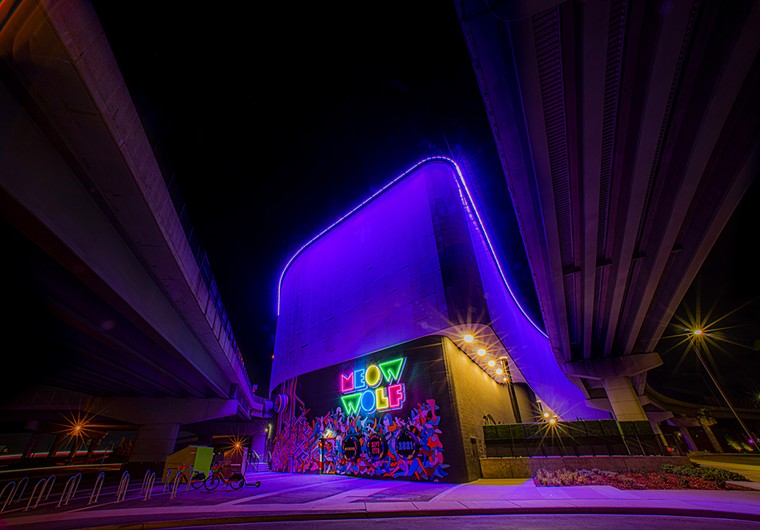 The soon-to-open Meow Wolf is located three miles east of Casa Bonita. - EVAN SEMÓN