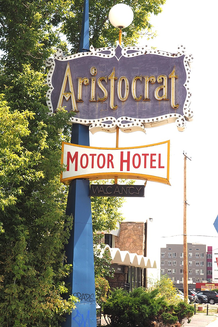 The Aristocrat is just a sign today. - JAY VOLLMAR