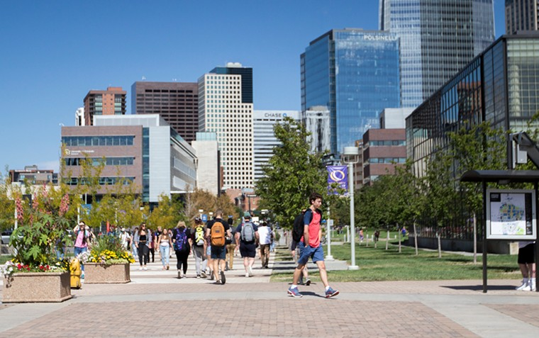 The lone Colorado winner of a scholarship was a student at the Metropolitan State University of Denver. - METROPOLITAN STATE UNIVERSITY OF DENVER