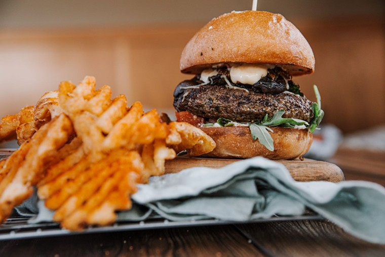 The Umami Wagyu Burger is one of the new menu items being rolled out by Rock Bottom. - ROCK BOTTOM