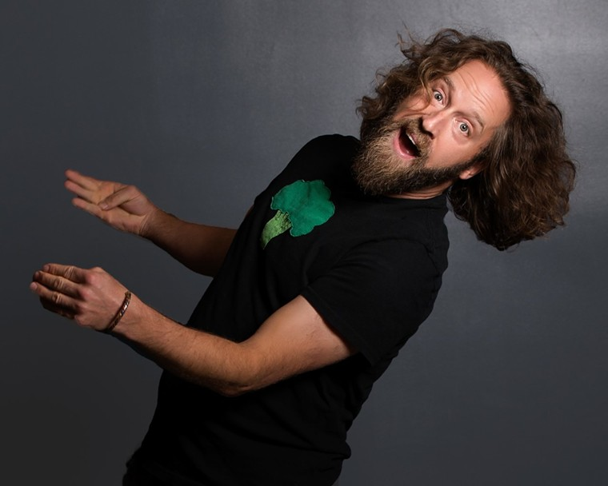 Denver comic Josh Blue proves America's Got Talent. - @NICKLARSONPHOTOGRAPHY