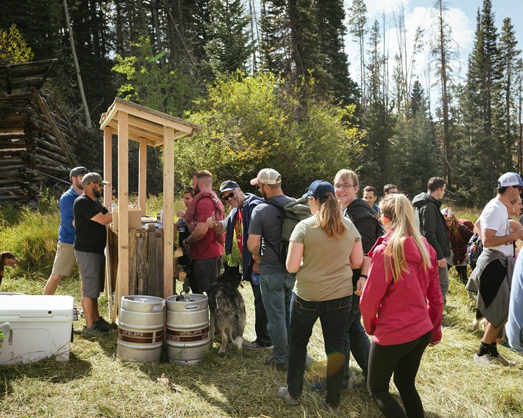 Upslope Brewing debuted the Backcountry Taproom in 2015. - UPSLOPE BREWING