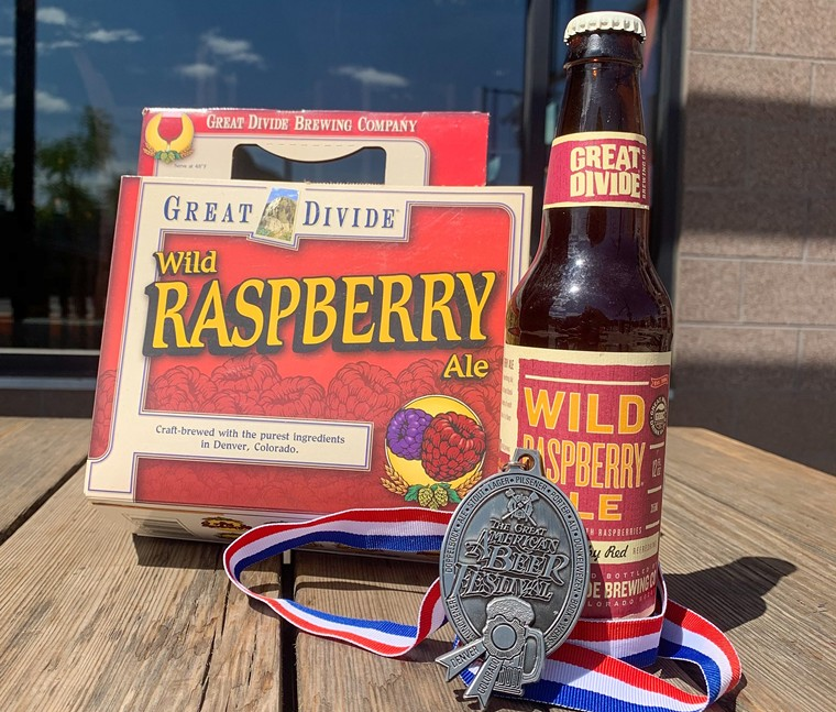Great Divide Brewing discontinued Wild Raspberry Ale (the old version is pictured), but will bring it back next year. - GREAT DIVIDE BREWING