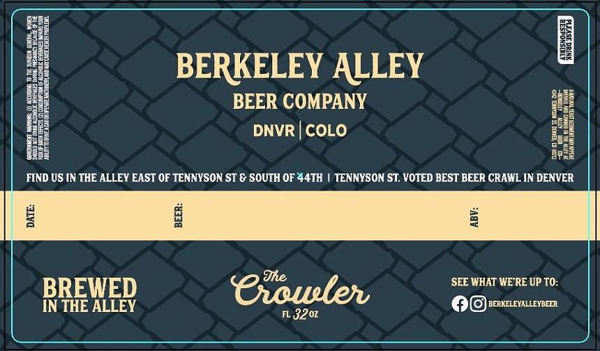 BERKELEY ALLEY BEER COMPANY