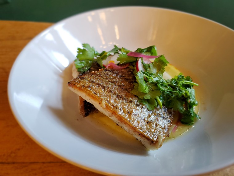 Brass Tacks rolled out a new menu this summer with more entrees. - MOLLY MARTIN