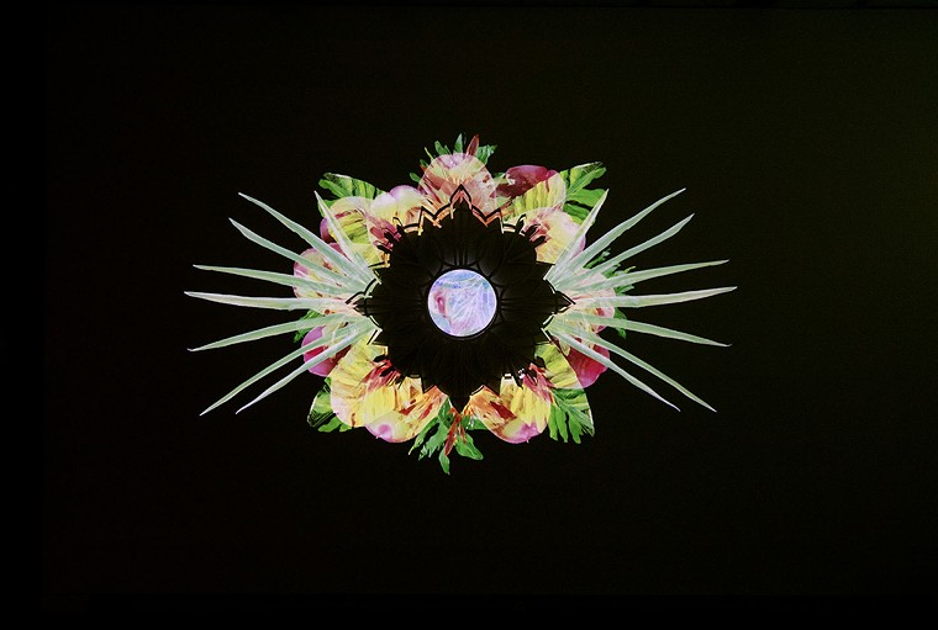 A detail from Alejandra Abad's Heirlooms installation at PlatteForum. - ALEJANDRA ABAD, COURTESY OF PLATTEFORUM