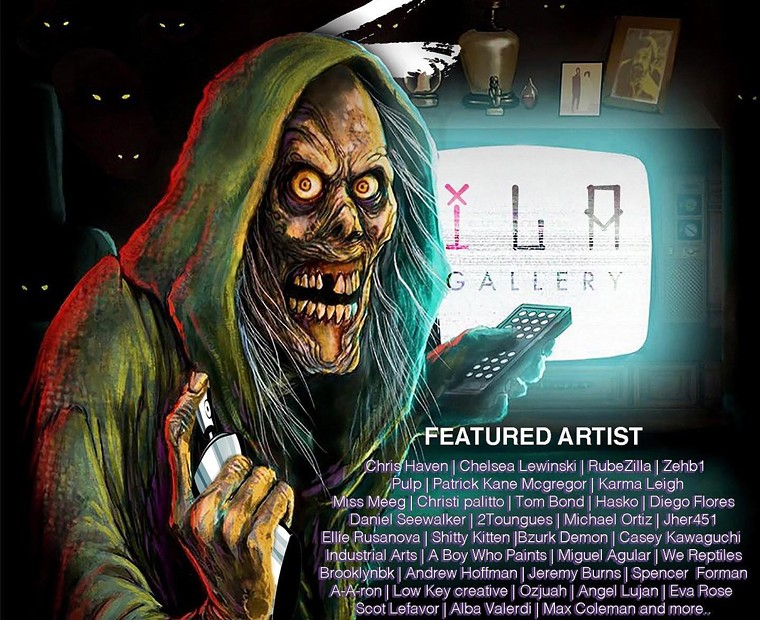 Get spooked at ILA Galley's Creepshow2. - COURTESY OF ILA GALLERY