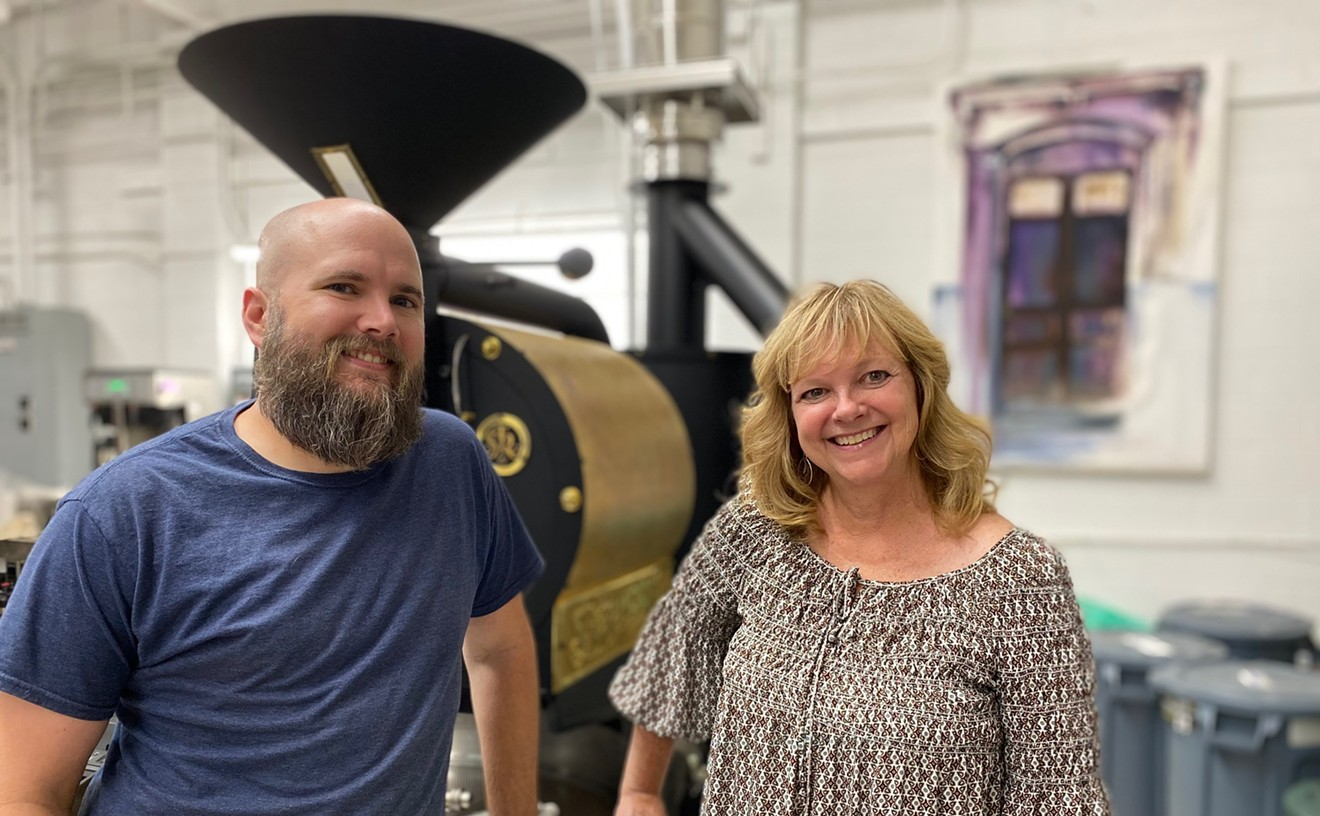 Houston Shearon and Tami Bonner are taking over the management of Purple Door's roasting operations and job training program.