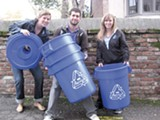 80 percent of one frat's waste stream was recyclable.