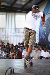 NICHOLAS LEA BRUNO - A dancer at a TURFinc event.