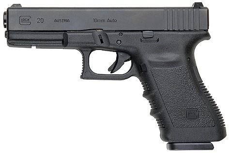 A glock handgun.