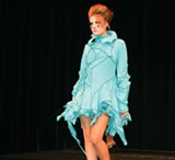 KATHLEEN RICHARDS - A look by Miranda Caroligne at the Bay Area Guide to Independent Fashion Festival.