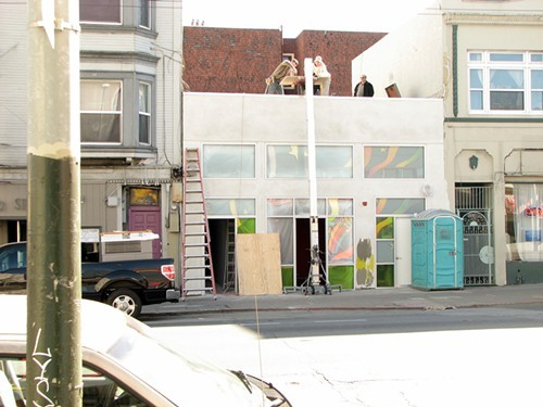A Mission District dispensary under construction. SFs last?