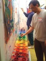 A Paint Dancing session.