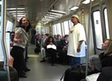 A scene from the BART performance.