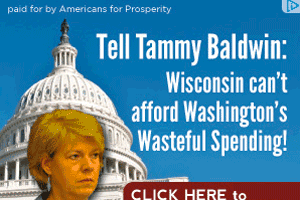 A targeted Americans for Prosperity ad.