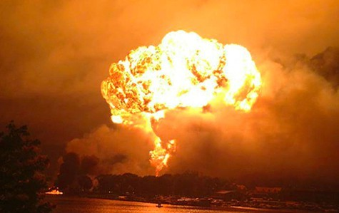 A train carrying fracked crude exploded in Quebec last year, killing 48 people.