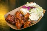 BERT JOHNSON - Abura-ya's moist, flavorful, and flash-fried barbecue chicken.