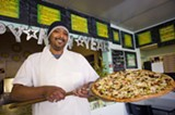 CHRIS DUFFEY - Amin Ahmed's pizzas feature such creative toppings as ginger and sweet potatoes.