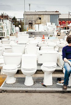 Amy Cools works at Urban Ore, where you can find all manner of household goods.