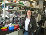 NATE SELTENRICH - Amyris co-founder Jack Newman in the company's Emeryville microbiology lab.