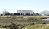 CALIFORNIA ENERGY COMMISSION - An artist's rendition of the proposed Oakley Generating Station.