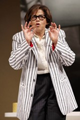JOAN MARCUS - Anna Deavere Smith shifts easily between topics.