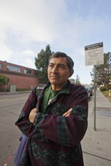 DAVID BACON - Antonio lives in Oakland but looks for work in Berkeley because he says the pay is better and the work is often easier.