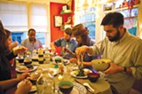 LORI EANES - Anyone can sign up to attend a homemade dinner through Feastly.
